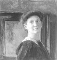 erna scheid, portrait by emanuel baschny