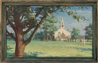a cape cod church by harold matthews brett
