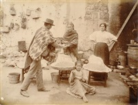 chili, venta de mote (blé cuit) by obder w. heffer