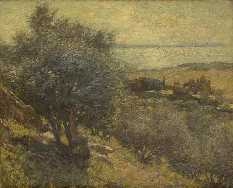 a mediterranean island by henry herbert la thangue