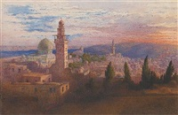 view of jerusalem by richard dadd