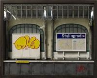 station stalingrad (maquette) by benjamin affagard