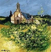la chapelle isolée, finistère by jacques goupil