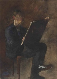 artist at work by floris arntzenius