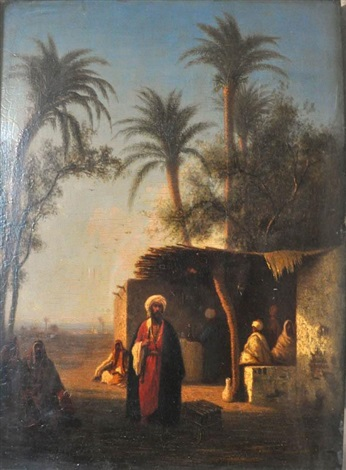 village dalgérie by charles théodore frère bey frère