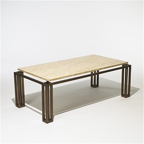 cocktail table from the seagram building, new york by philip cortelyou johnson
