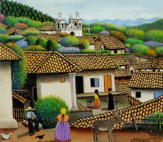 Vista De San Antonio De Oriente By Jose Antonio Velasquez