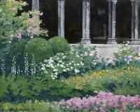 a cloistered garden by brett mcentaggart
