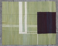 tapis à motifs géométrique by eileen gray