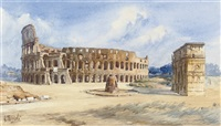 the colosseum, rome by giovanni facciola
