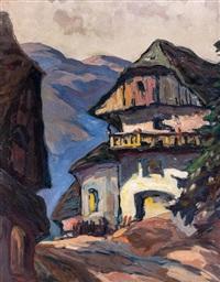 bauernhof in den bergen by oskar mulley