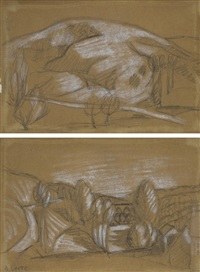 deux paysages (2 works) by andré lhote