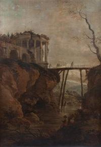 landscape by hubert robert