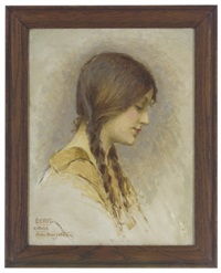 beryl (sketch) by margetson helen howard