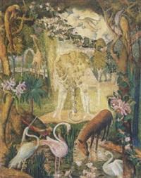 édenkert (paradise) by endre hegedüs