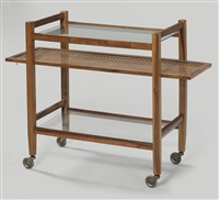 a serving trolley by hans jirasek