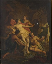 diana and actaeon by hendrik van limborch