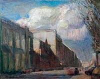 l'avenue nevsky by konstantin polyakov