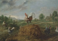 the cock and the pearl by frans snyders