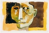 rostro by oswaldo guayasamín