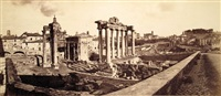panorama del foro romano by james anderson