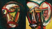 topeng muka merah i & ii by yusof ghani
