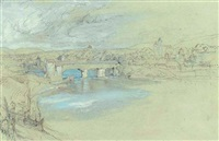 the bridge of rheinfelden, switzerland by john ruskin