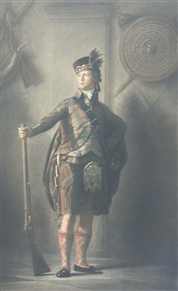 alastair macdonnell of glengarry by henry macbeth-raeburn