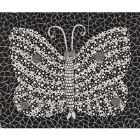 butterfly(kusama 18 by yayoi kusama