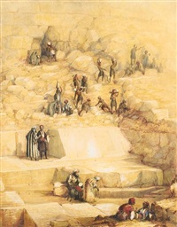 excavation and discovery of the casing stones by frabcus vyvyan jago arundale