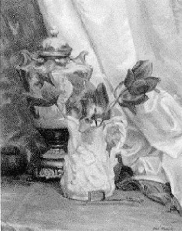 flowers and urn by ethel paxson
