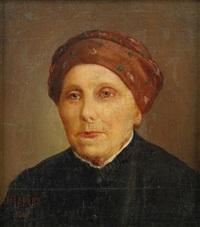 portrait of a woman by nikolaj wassilijewitsch newreff