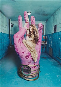 madonna in bombay by david lachapelle