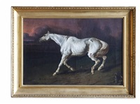 wounded horse by james ward
