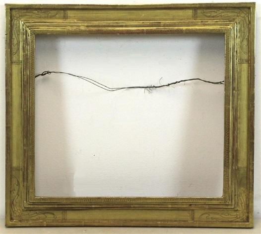 HAND CARVED AND GILDED FRAME by Fredrick Harer on artnet