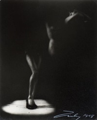 chiaroscura (nu burlesque) by theodore (count) zichy