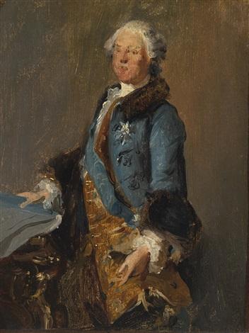 portrait of abel françois poisson marquis de marigny by louis tocqué