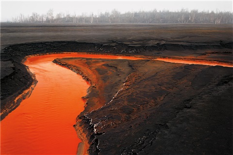 nickel tailings 39 sudbury ontario by edward burtynsky