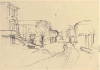 street in rimini in 1944 by william coldstream