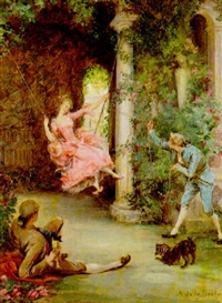 the swing by auguste de (breley) labrely