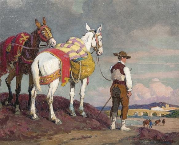 Guardian de camargue by Edouard Edmond Doigneau on artnet 7f22eb6154b