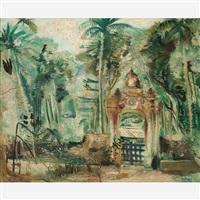 jardim botânico - portão da casa de pòlvora by alberto da veiga guignard