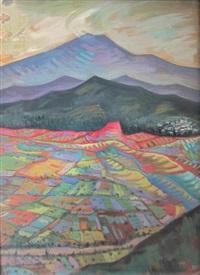 paysage vallonné (?) by valias semertzides