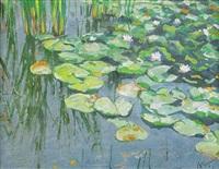 water lilies by anatoli dmitriewitsch kaigorodoff