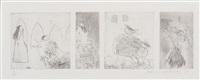 study for rumpelstilskin by david hockney