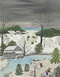 taking leg bale for security by grandma moses
