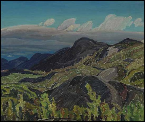 summer landscape by franklin carmichael