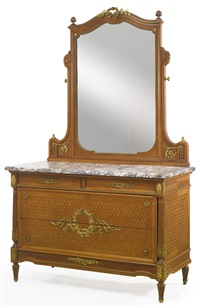 dressing commode by françois linke
