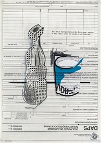 we don't have problems with by martin kippenberger