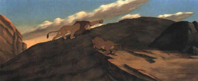 The Lion King Mufasa And Simba By Walt Disney Studios On
